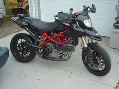 black and pink ducati hypermotard - Google Search