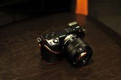 NEX-7 & NEX-6 COMBO set: SONY NEX-7 & NEX-6 Full Case + Strap - Kaza
