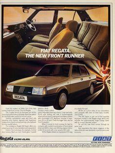 Fiat Regata - Vintage Car Ads