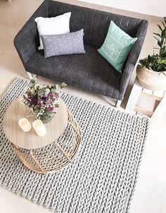Boho Deco Chic: Oficina Boho Deco Parte 2: Un salón mini para relajarnos Boho Deco, Bohemian Decor, Outdoor Sofa, Outdoor Furniture, Outdoor Decor, Zen Room, Nordic Style, Mini, Blog