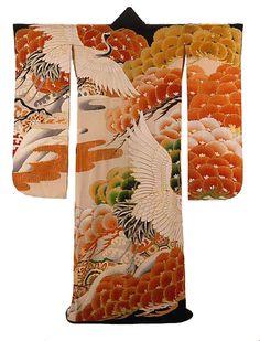 Kimono,  #Japan (1945-1972) The Textile Museum | Collections