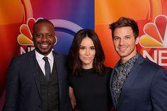 """NBC's """"Timeless"""" Panel Pictured (l-r) Malcolm Barrett , Abigal Spencer. Matt Lanter --"""