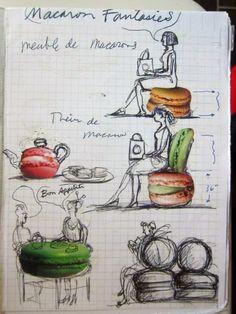 Macaron furniture