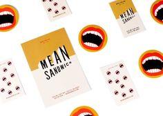 Mean Sandwich – After All Studio – corporate branding identity Tag Design, Menu Design, Layout Design, Print Design, Design Cars, Cover Design, Corporate Design, Brand Identity Design, Branding Design