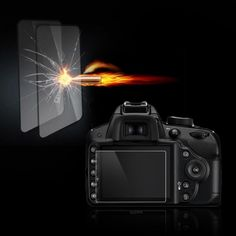 Tempered Optical Glass HD LCD Ultra-thin 8H Screen Protector Cover Film Camera Protection For Nikon D3200 D3300 DSLR