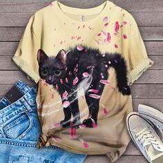 Cat Shirt Bird Shirt, Cat Shirts, T Shirts For Women, Sweatshirts, Tees, Sweaters, Fashion, Moda, T Shirts