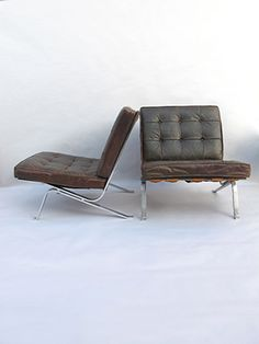 Haussmann Robert and Trix 1954 Easychair RH 301 Barcelona Chair, Vintage Furniture, Contemporary Design, Lounge, Modern, Home Decor, Airport Lounge, Trendy Tree, Decoration Home