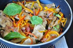 Balsamic Chicken Breasts With Peppers And Onions Recipe - Food.com - 91266