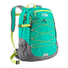 Awesome! The north face backpack. Im in love.