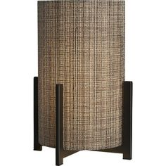 Weave Table Lamp in Table, Desk Lamps | Crate and Barrel