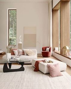 Find out why modern living room design is the way to go! A living room design to make any living room decor ideas be the brightest of them all. Interior Design Minimalist, Best Interior, Modern Interior Design, Design Interiors, Modern Decor, Color Interior, Contemporary Interior, Modern Interiors, Interior Design Ideas For Small Spaces