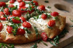 Cherry Tomato Focaccia Bread