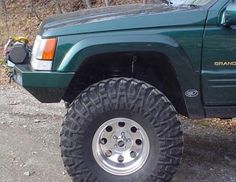 Large Flares for Jeep Grand Cherokee ZJ