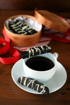 Triple Chocolate Peppermint Biscotti 4