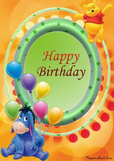 Happy Birthday wishes cards and greeting cards Disney Birthday Wishes, Late Happy Birthday Wishes, Birthday Greetings For Facebook, Happy Birthday Kids, Birthday Blessings, Happy Birthday Pictures, Happy Birthday Greeting Card, Happy Birthday Messages, Happy Birthday Quotes
