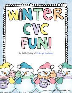 Winter CVC Game..freebie :)
