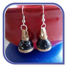 """Jhumkas are a must have jewelry in Indian Traditional Wedding. Traditional South Indian J humkas are also known as """" Jumkis """". Paper Magic, Traditional Wedding, Nail Polish, Indian, Drop Earrings, Colors, Painting, Jewelry, Jewels"""
