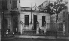 A Rua Visconde de Itaúna, altura da Casa de Tia Ciata, um dos berços do samba Arquivo Geral da Cidade do Rio de Janeiro