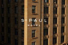 St Paul Hotel on Behance