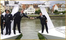 """Award-winning river cruise line AmaWaterways continues to leas the industry with a fleet of 15 custom-designed vessels in Europe, Russia, Vietnam, Cambodia and Africa. They continue to lead the way in river cruising by providing innovative luxurious ship designs featuring step-out & French balconies, premium stateroom amenities and warm, personalized service. AMA has customized eight """"In Celebration of Wine"""" theme cruises to showcase the acclaimed wine regions along the Rhone,Rhine…"""