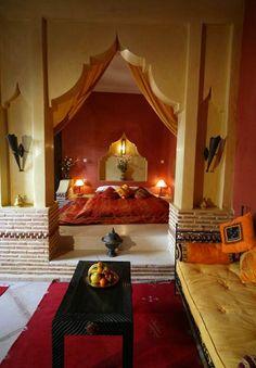 I'd like to fall asleep in morocco every night