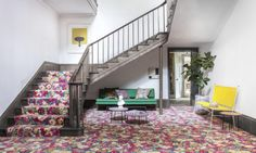 Flowers of Thorpe | Liberty Fabric Patterned Carpet by Alternative Flooring