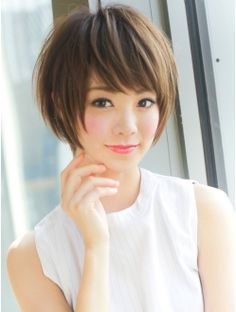 Hairstyles Archives - This Way Come Medium Short Hair, Girl Short Hair, Short Hair Cuts, Medium Hair Styles, Short Hair Styles, Cute Hairstyles For Short Hair, Trendy Hairstyles, Japanese Short Hair, Beautiful Long Hair
