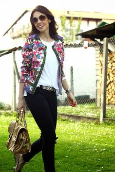 chaquetas de flores | Cuidar de tu belleza es facilisimo.com