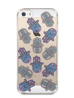 Capa Iphone 5/S Mãozinhas Hamsá - SmartCases - Acessórios para celulares e tablets :)