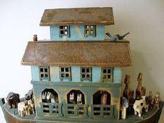 vintage Noah's ark set.
