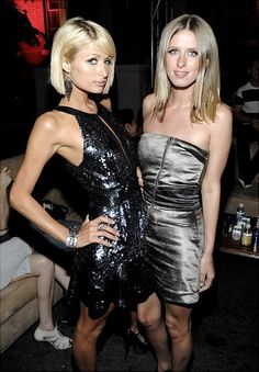 Paris and Nicky Hilton have lived anything but 'The Simple Life,' using the famous hotel family's name to launch their celebrity careers. Famous Sisters, Twin Sisters, Mom Daughter, Sister Sister, Famous Celebrities, Celebs, Love Your Sister, Go Best Friend, Celebrity Siblings