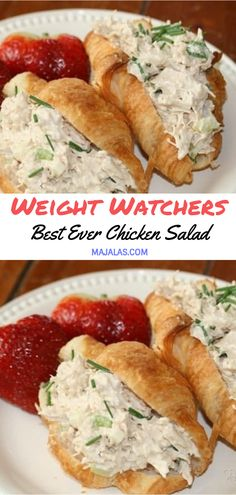 Best Ever Chicken Salad // #WeightWatcher #Healthy #SkinnyRecipes #Recipes #Smartpoints #Chicken #LowCarb #WeigthWatchersRecipes #weightwatchersdesserts