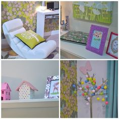 Fi's new room inspiration...so girlie and sweet!