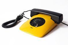 ISKRA Phone ETA 80 82 Telephone Yugoslavia Rotary Handset