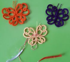"""""""Mărțișor"""" is a little thing we are wearing in our country at the beginning of Spring Beginning Of Spring, Needle Tatting, Little Things, Crochet Earrings, Jewelry Making, Traditional, Country, Beautiful, Start Of Spring"""