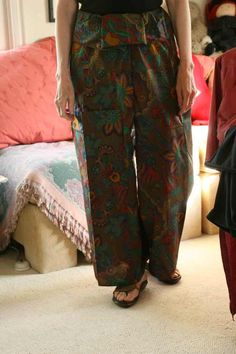 Claire Kennedy Design - Thai Fisherman Pants Spa Uniform, Thai Fisherman Pants, Dressmaking, Diy Design, Claire, Muse, Parachute Pants, Upcycle, Sewing Patterns