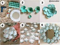 artesanato com caixa de ovos - Pesquisa Google