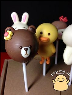 Cupcake Cookies, Cupcakes, Animal Cake Pops, Easter Cake Pops, Duck Cake, Mini Pies, Chocolate Covered Oreos, Baby First Birthday, Cakepops