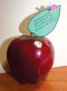 Apple-icious Gift - Classroom Freebies