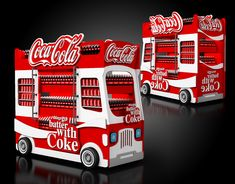 Coca Cola Display Stand on Behance