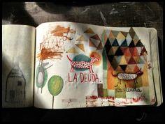 Carolina Bernal - love her drawings...