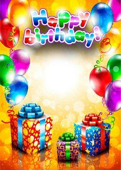 Set of Happy birthday postcards design elements vector 02 Free Birthday Card, Happy Birthday Messages, Happy Birthday Quotes, Happy Birthday Images, Happy Birthday Greetings, Birthday Pictures, 13 Birthday, Sister Birthday, Birthday Postcards