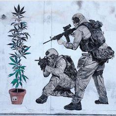 #streetart #weed