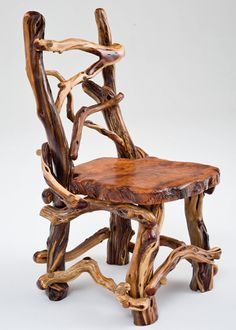 Rustic Redwood Chair