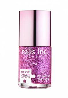 nails inc - Pinkie Pink nail polish supporting Breast Cancer Campaign  #nailsinc