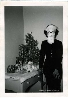 10 Funny and Strange Vintage Christmas Photos! - PROJECT B - Vintage Photography, Photo-Based Art & Curated Projects
