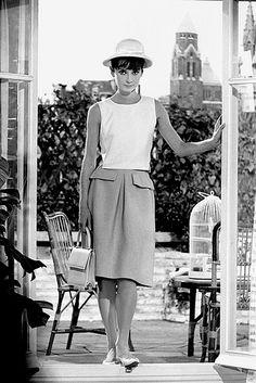 Audrey Hepburn as Gaby in Paris When It Sizzles (1964).