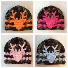 Crochet+Camo+Hat,+Deer+Hat,+Camouflage,+Baby+Boy+Camo,+Baby+Girl+Camo,+Newborn-child,+Photo+Prop+by+SweetTandHoneyBees+on+Etsy More