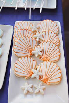 Beach cookies - For all your cake decorating supplies, please visit craftcompany.co.uk