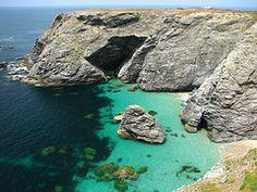 Crique à Belle-Ile en mer - Bretagne - France